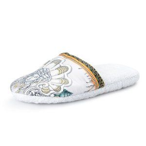Versace Home Unisex Multi-Color Slippers Shoes